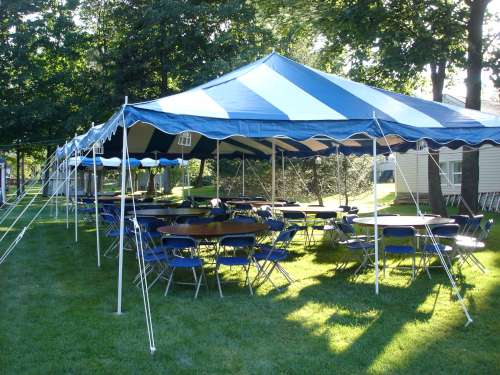 backyard tent, party tent
