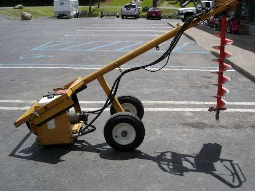 Auger, Hydraulic, 1 man - Click Image to Close