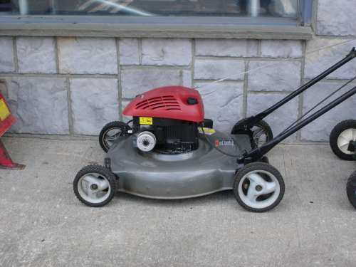 "Mower, 22"" gas"