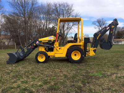 Terramite 2 wheel drive Backhoe/Loader